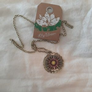 Lily Bloom Flower Necklace